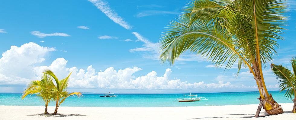 南の島のビーチリゾート、セブ島