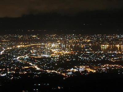 セブ島トップス/Topsから見た夜景