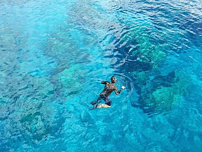 シュノーケリング/snorkeling
