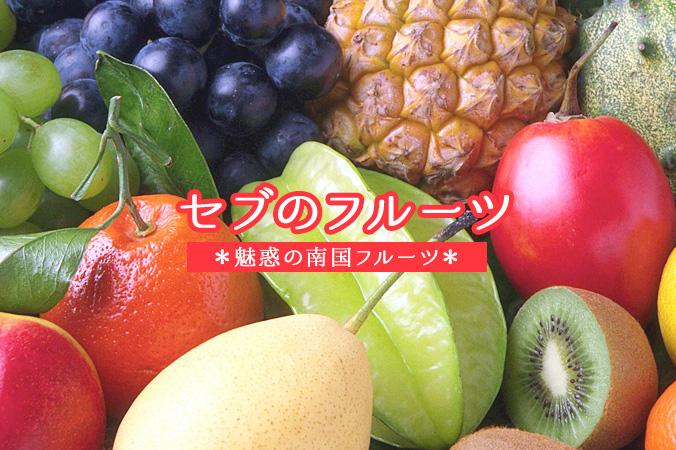 セブのフルーツ 魅惑の南国フルーツ